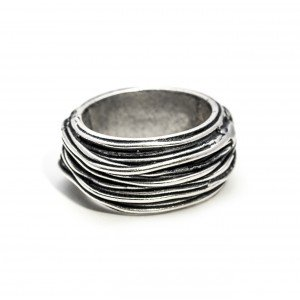 DOUBLEUFRENK - IRON RING - STEEL WIRE