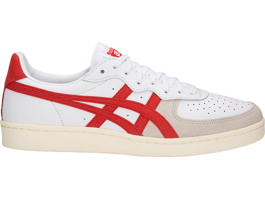 online store 4420e 5c3d2 ONITSUKA TIGER - SNEAKER GSM - WHITE/CLASSIC RED