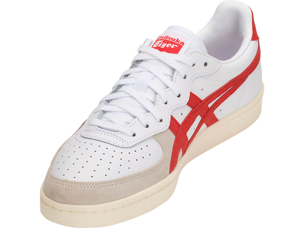 online store 1ca06 c141a ONITSUKA TIGER - SNEAKER GSM - WHITE/CLASSIC RED